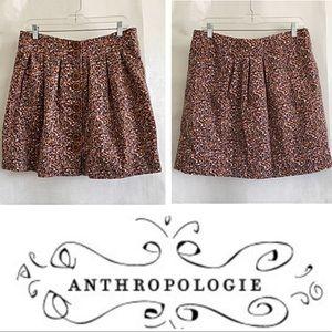 elevenses Confetti Skirt Sz 8 Abstract Velvet